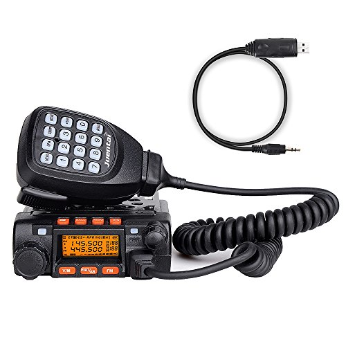 Juentai-JT-6188-Dual-Band-VHFUHF-136-174400-480MHz-VHF-25Watt-UHF-20Watts-Dual-Band-Two-Way-Radios-Mobile-Transceiver-Walkie-Talkie-with-Programming-Cable-0