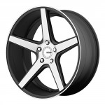 KMC-Wheels-KM685-District-Satin-Black-Wheel-With-Machined-Flanged-20x855x120mm-28mm-offset-0