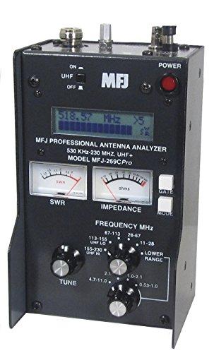 MFJ-Enterprises-Original-MFJ-269CPRO-53-230-430-520-MHz-Antenna-SWR-RF-Analyzer-w-LCD-Counter-Meters-0