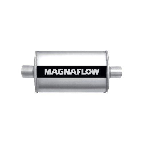 Magnaflow-11216-Satin-Stainless-Steel-25-Oval-Muffler-0