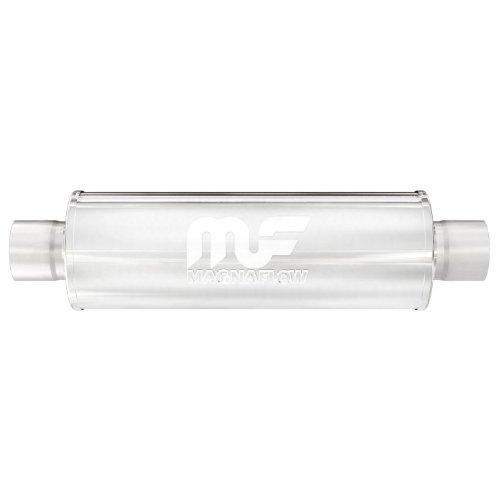 Magnaflow-14419-Stainless-Steel-3-Round-Muffler-0