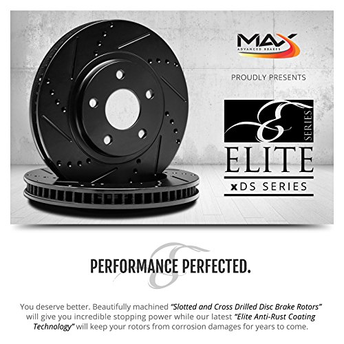 Max-KT053283-ELITE-SERIES-Front-Rear-Performance-Slotted-Cross-Drilled-Rotors-and-Ceramic-Pads-Combo-Brake-Kit-0-0