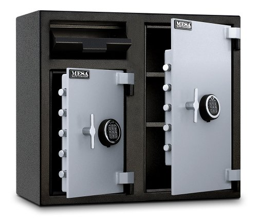 Mesa-Safe-MFL2731EE-Depository-Safe-26-Left-and-47-Right-interior-cubic-feet-2-Compartments-0-0