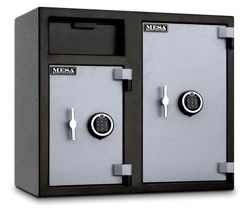 Mesa-Safe-MFL2731EE-Depository-Safe-26-Left-and-47-Right-interior-cubic-feet-2-Compartments-0