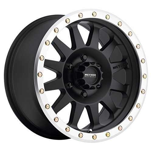 Method-Race-Wheels-Double-Standard-Matte-Black-Wheel-with-Machined-Lip-18x96x55-0
