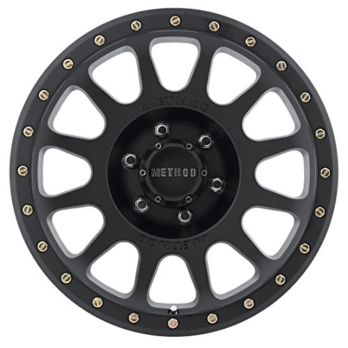 Method-Race-Wheels-NV-Matte-Black-Wheel-with-Zinc-Plated-Accent-Bolts-18x96x135mm-0-0