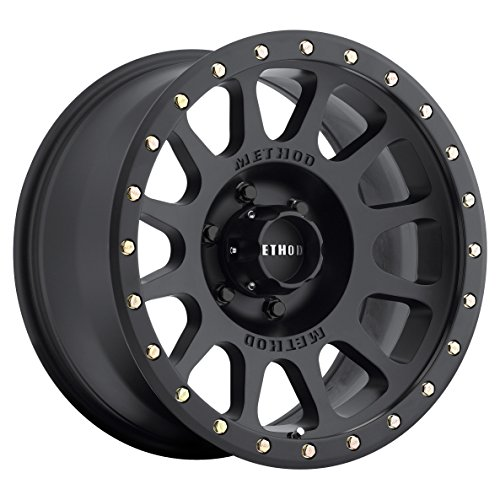 Method-Race-Wheels-NV-Matte-Black-Wheel-with-Zinc-Plated-Accent-Bolts-18x96x135mm-0
