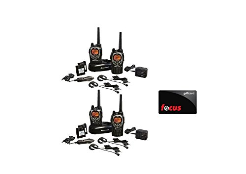 Midland-GXT1000VP4-36-Mile-50-Channel-FRSGMRS-Two-Way-Radio-Total-of-4-Radios-with-Focus-Camera-10-Gift-Card-0