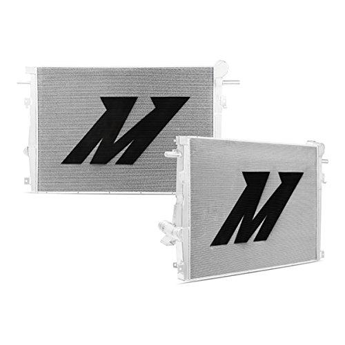 Mishimoto-MMRAD-F2D-11-Silver-Aluminum-Primary-Radiator-for-Ford-67L-Powerstroke-0