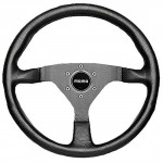 Momo-MCL35BK1B-Montecarlo-350-mm-Leather-Steering-Wheel-0