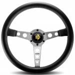 Momo-PRO35BK0S-Prototipo-Silver-350-mm-Leather-Steering-Wheel-0