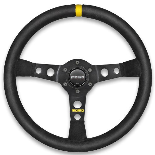 Momo-R190535S-Mod-07-350-mm-Suede-Steering-Wheel-0