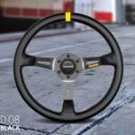 Momo-R190835L-Mod-08-350-mm-Leather-Steering-Wheel-0