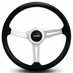 Momo-RET36BK2S-Retro-360-mm-Leather-Steering-Wheel-0