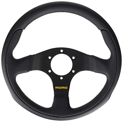 Momo-TEA30BK0B-Team-300-mm-Leather-Steering-Wheel-0