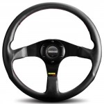 Momo-TUN32BK0B-Tuner-Black-320-mm-Leather-Steering-Wheel-0