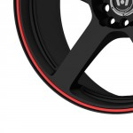 Motegi-Racing-MR116-Matte-Black-Wheel-With-Red-Racing-Stripe-17x75x108-1143mm-40mm-offset-0-0