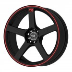 Motegi-Racing-MR116-Matte-Black-Wheel-With-Red-Racing-Stripe-17x75x108-1143mm-40mm-offset-0