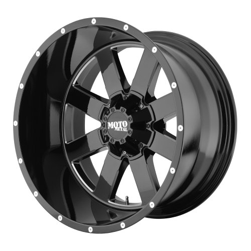 Moto-Metal-MO962-Gloss-Black-Wheel-With-Milled-Accents-20x126x1397mm-44mm-offset-0