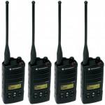 Motorola-RDU4160D-RDX-Business-2-Way-UHF-Frequency-Professional-Two-Way-Radio-4-Pack-0
