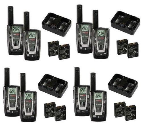 NEW-4-PAIR-COBRA-CXR725-27-Mile-22-Channel-FRSGMRS-Walkie-Talkie-2-Way-Radios-0