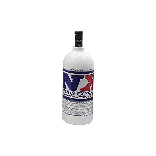 Nitrous-Express-11025-Nitrous-Bottle-with-Motorcycle-Valve-25-lbs-0