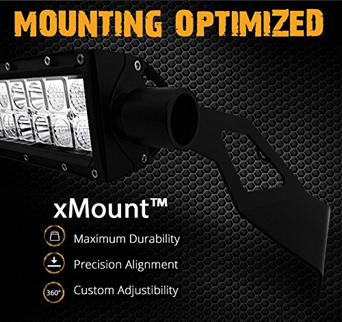 OPT7-xMount-50-LED-CurvedStraight-Light-Bar-Top-Windshield-Mounting-Brackets-Kit-for-2002-2008-Dodge-Ram-0-0