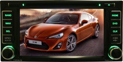OTTONAVI-Toyota-FJ-Cruiser-2007-2011-In-Dash-Double-Din-Touch-Screen-GPS-iPod-DVD-Navigation-Radio-0-0