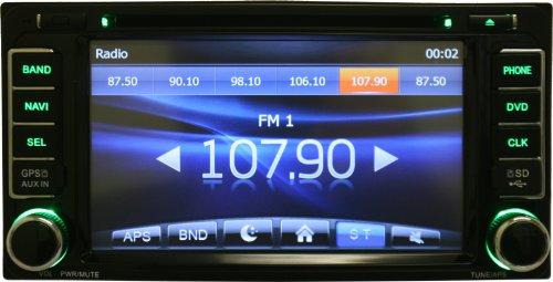 OTTONAVI-Toyota-FJ-Cruiser-2007-2011-In-Dash-Double-Din-Touch-Screen-GPS-iPod-DVD-Navigation-Radio-0-1