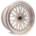 One-17×8-JNC-CCW-Style-001v2-4×100-25-White-Machine-Lip-Wheel-fit-Honda-Toyota-M-0