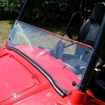 Orion-Motor-Tech-Clear-12-Half-Windshield-for-Polaris-Ranger-RZR-with-Mounting-Hardware-Rubber-Seal-0