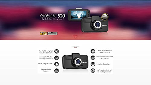 PAPAGO-GS520-US-GoSafe-520-Super-HD-2304×1296-Dash-Cam-Car-DVR-Dashboard-Camera-Video-Recorder-with-Superior-Night-Vision-Parking-Monitor-G-Sensor-3-Screen-0-1