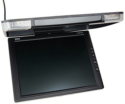 PYLE-14-Inch-High-Resolution-TFT-Roof-Mount-Monitor-and-IR-Transmitter-0