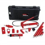 Porto-Power-B65115-BlackRed-Hydraulic-Body-Repair-19-Piece-Kit-10-Ton-Capacity-0