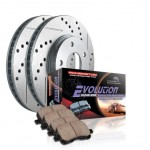 Power-Stop-K137-Front-Ceramic-Brake-Pad-and-Cross-DrilledSlotted-Combo-Rotor-One-Click-Brake-Kit-0