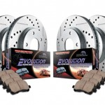 Power-Stop-K2303-FrontRear-Ceramic-Brake-Pad-and-Cross-DrilledSlotted-Combo-Rotor-One-Click-Brake-Kit-0