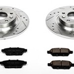 Power-Stop-K2450-Rear-Ceramic-Brake-Pad-and-Cross-DrilledSlotted-Combo-Rotor-One-Click-Brake-Kit-0