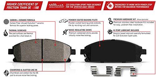 Power-Stop-K5584-Z23-Evolution-Sport-Brake-Kit-Front-and-Rear-0-0