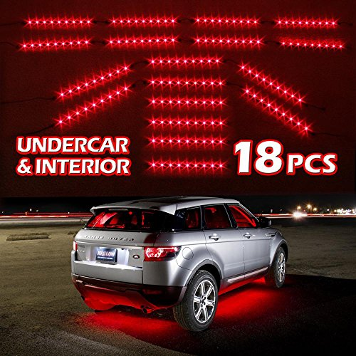 Premium-14pcs-18pcs-Underglow-Car-Interior-Three-Mode-LED-Neon-Accent-light-Kit-Waterproof-Ultra-Bright-Plug-Play-Ultimate-Coverage-0