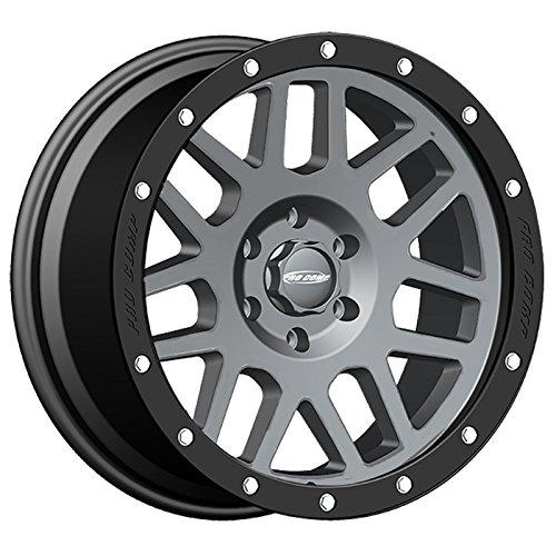 Pro-Comp-Alloys-Series-40-Vertigo-Dark-Gray-Wheel-with-Black-Lip-20x96x55-0