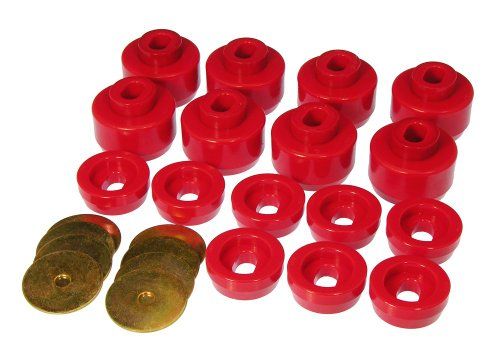 Prothane-7-141-Red-Body-and-Cab-Mount-Bushing-Kit-16-Piece-0