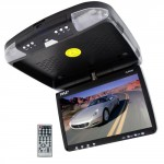 Pyle-9-Inch-Flip-Down-Monitor-and-DVD-Player-with-Wireless-FM-Modulator-IR-Transmitter-0