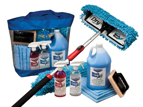 RV-Aircraft-Boat-Car-Waterless-Wash-Wax-Mop-Kit-0