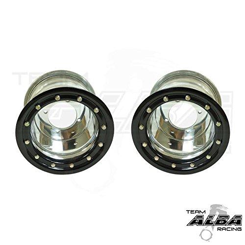 Raptor-660-Raptor-700-Rear-Wheels-Beadlock-9×8-35-4115-Polished-Black-0