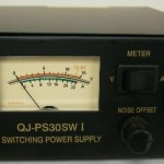 Regulated-30-Amp-Compact-Power-Supply-138Vdc-w-Volt-Amp-Meter-0