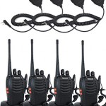 Retevis-H-777-2-Way-Radio-UHF-400-470MHz-3W-16CH-Single-Band-with-Original-Earpiece-Walkie-Talkie-Handheld-Ham-Amateur-Radio-Transceiver4-Pack-and-Speaker-Mic-4-Pack-0