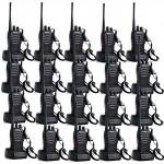 Retevis-H-777-2-Way-Radio-UHF-400-470MHz-3W-16CH-with-Original-Earpiece-Walkie-Talkie-Handheld-Transceiver-Ham-Radio-20-Pack-0