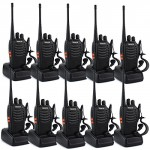Retevis-H-777-Two-Way-Radio-Long-Range-UHF-400-470-MHz-Signal-Frequency-Single-Band-16-Channels-with-Original-Earpiece-Pack-of-10-0