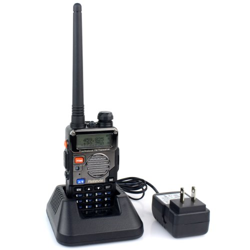 Retevis-RT-5RV-2-Way-Radio-5W-128CH-VHFUHF-136-174400-520-MHz-VOX-DTMFCTCSSDCS-FM-Transceiver-with-Earpiece-10-Pack-and-Speaker-Mic-10-Pack-0-0