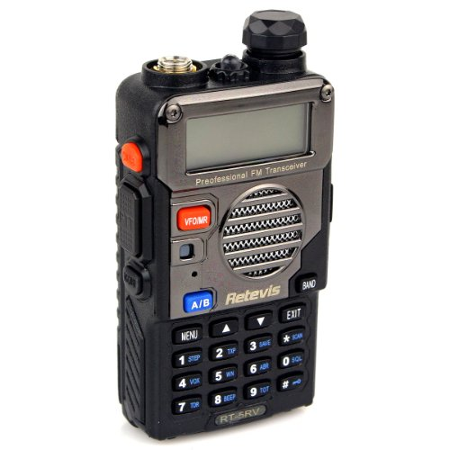 Retevis-RT-5RV-2-Way-Radio-5W-128CH-VHFUHF-136-174400-520-MHz-VOX-DTMFCTCSSDCS-FM-Transceiver-with-Earpiece-10-Pack-and-Speaker-Mic-10-Pack-0-1